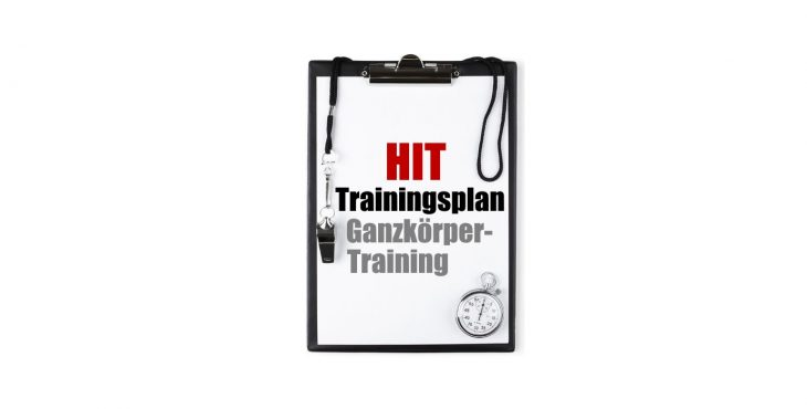 HIT TRainingsplan Ganzkörper Abbildung