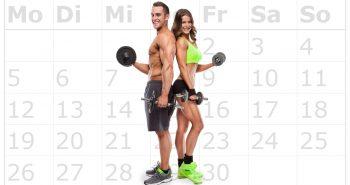 Krafttraining – Wie oft trainieren in der Woche?